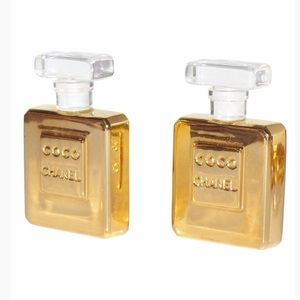 Celeb favorite CHANEL giant perfume earrings